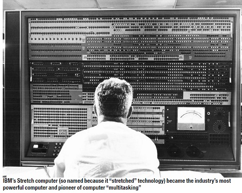 the invention of the first personal computer and the intrinsic values of the computing machine as we