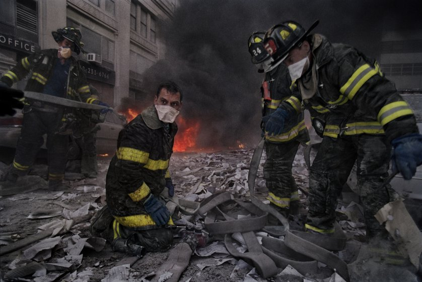 ÒThere was a sense of shock. The firefighters clicked into a kind of professional default and did what they knew how to do, in the face of impossible odds.Ó